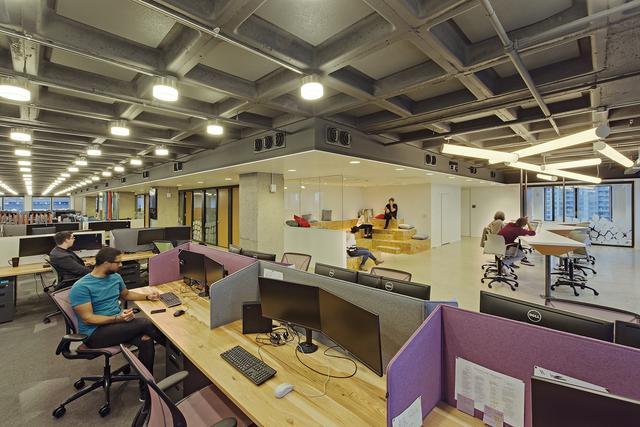 上海办公室设计-装修材料的选择技巧