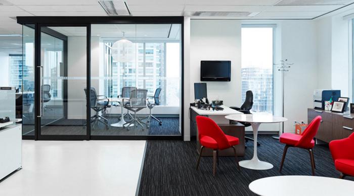 长宁区大众金融中心500平办公室