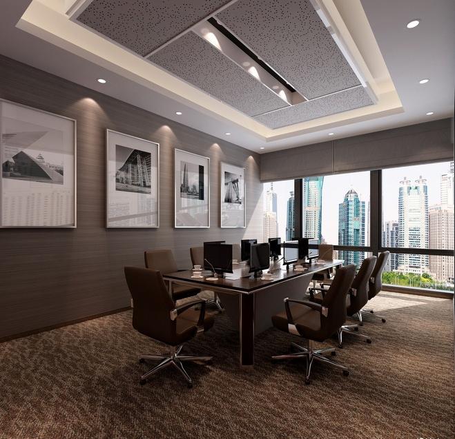 大型会议室装修设计效果