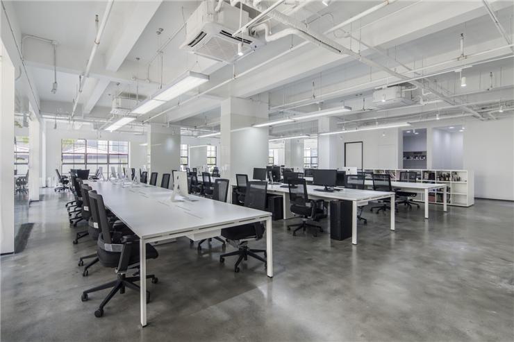 普陀区鸿海大厦760平米办公室装修