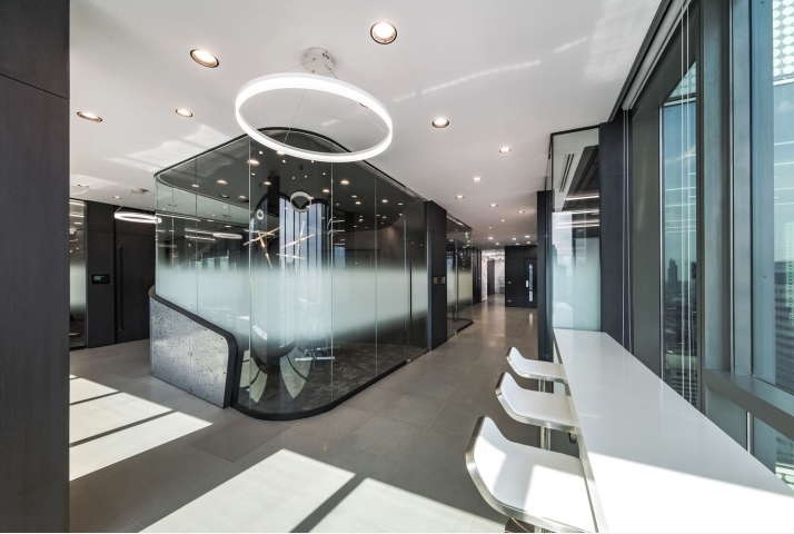 闵行区4S奔驰办公室装修设计效果