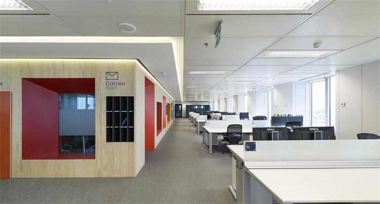 办公室顶面装修设计效果