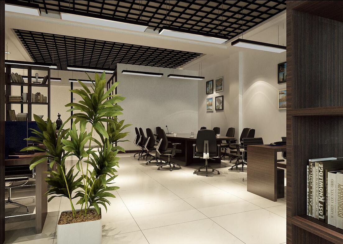 现代风格经理室装修效果图