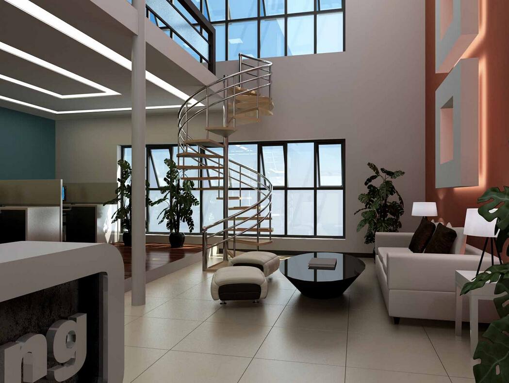 <b>静安区博鸿大厦LOFT办公室设计</b>