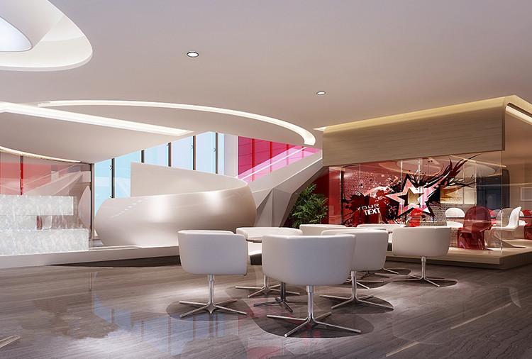静安区常春藤大厦办公室装修设计