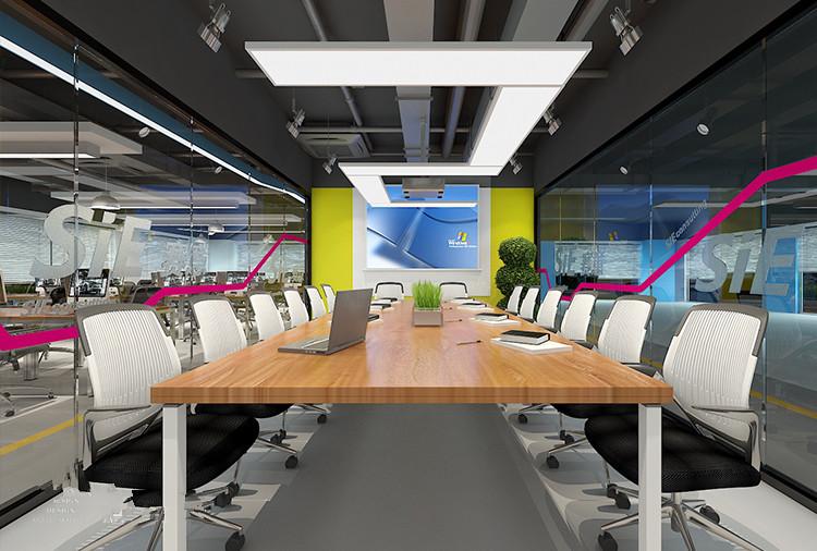 闵行区瑞铂中心赛意办公室设计实景