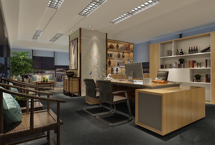 杨浦区北美广场小办公室设计效果