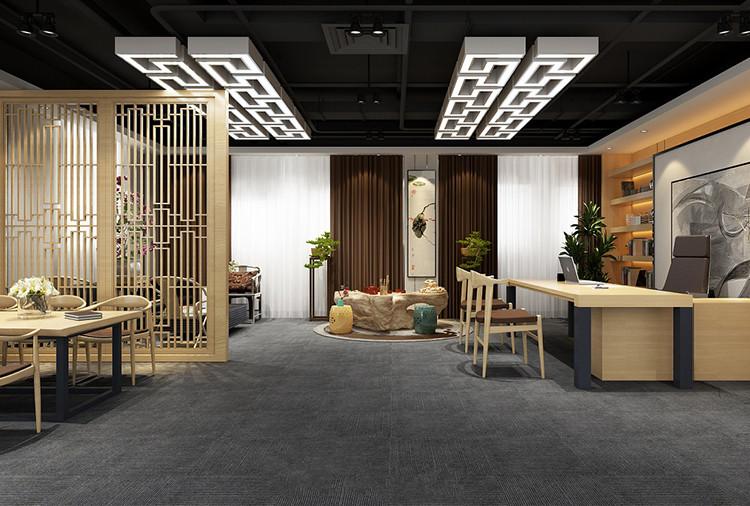 徐汇区南洋国际大厦办公室装饰设计