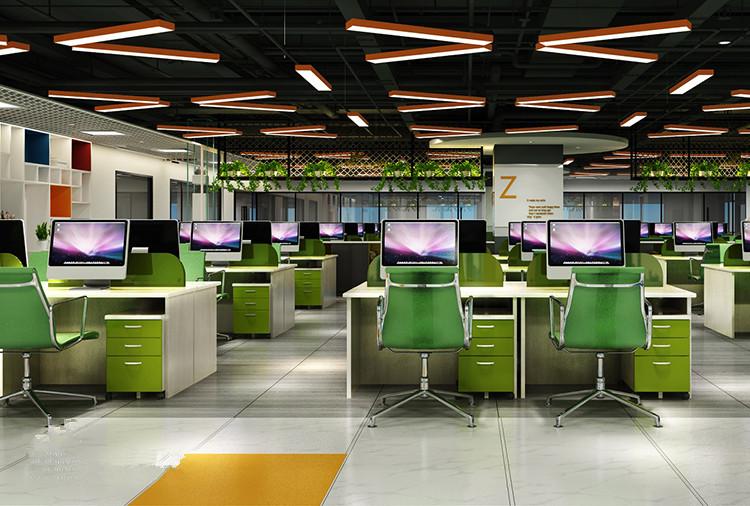 黄浦区都市总部办公室装修设计案例
