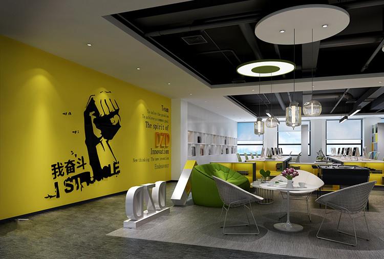 虹口区复城国际大厦千讯办公室设计
