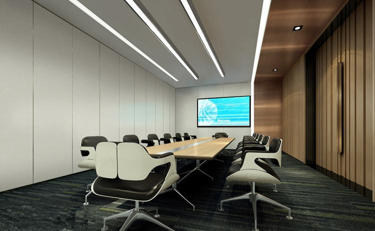 企业会议室布置设计效果
