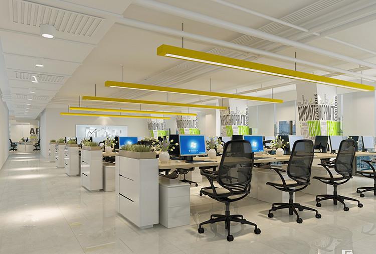 恒利国际大厦办公室设计布置图