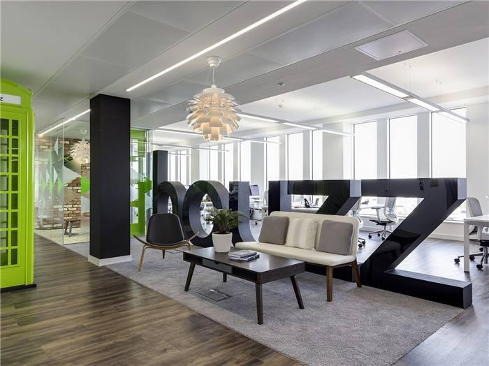 上海办公室装修设计风格多元化