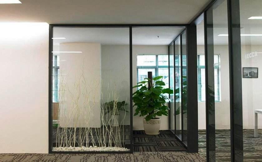 上海办公室装潢_办公大门招财装修设计
