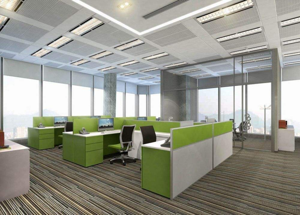 上海办公室装修公司设计办公座位风水