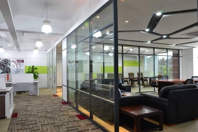 办公室装修中隔断设计的原则