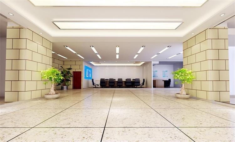 上海装修公司浅谈办公室装修的地面材料