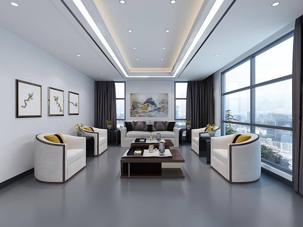 静安区江宁路630平米办公室设计
