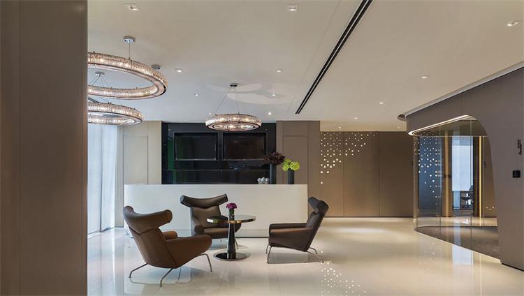 智慧绿地办公室装修设计效果