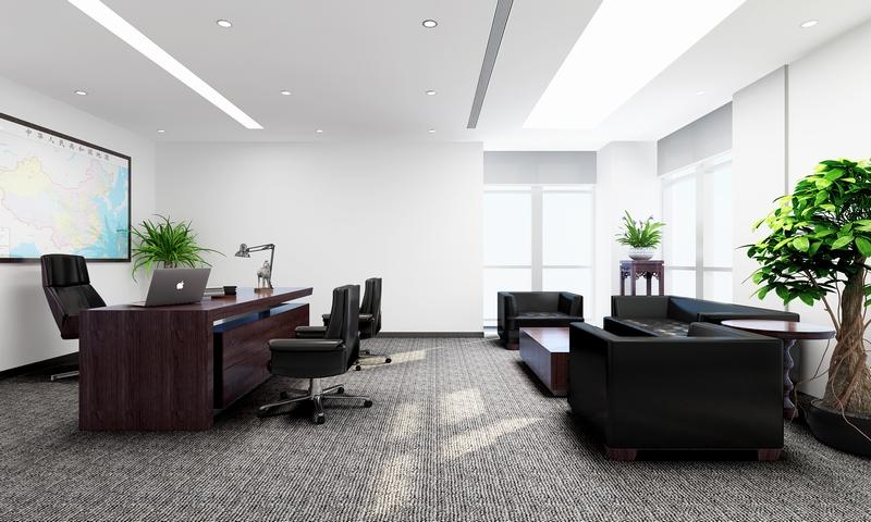 宝山中海技术办公室简约风格