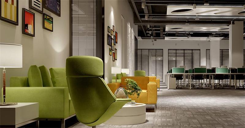虹口办公室设计案例现代风格