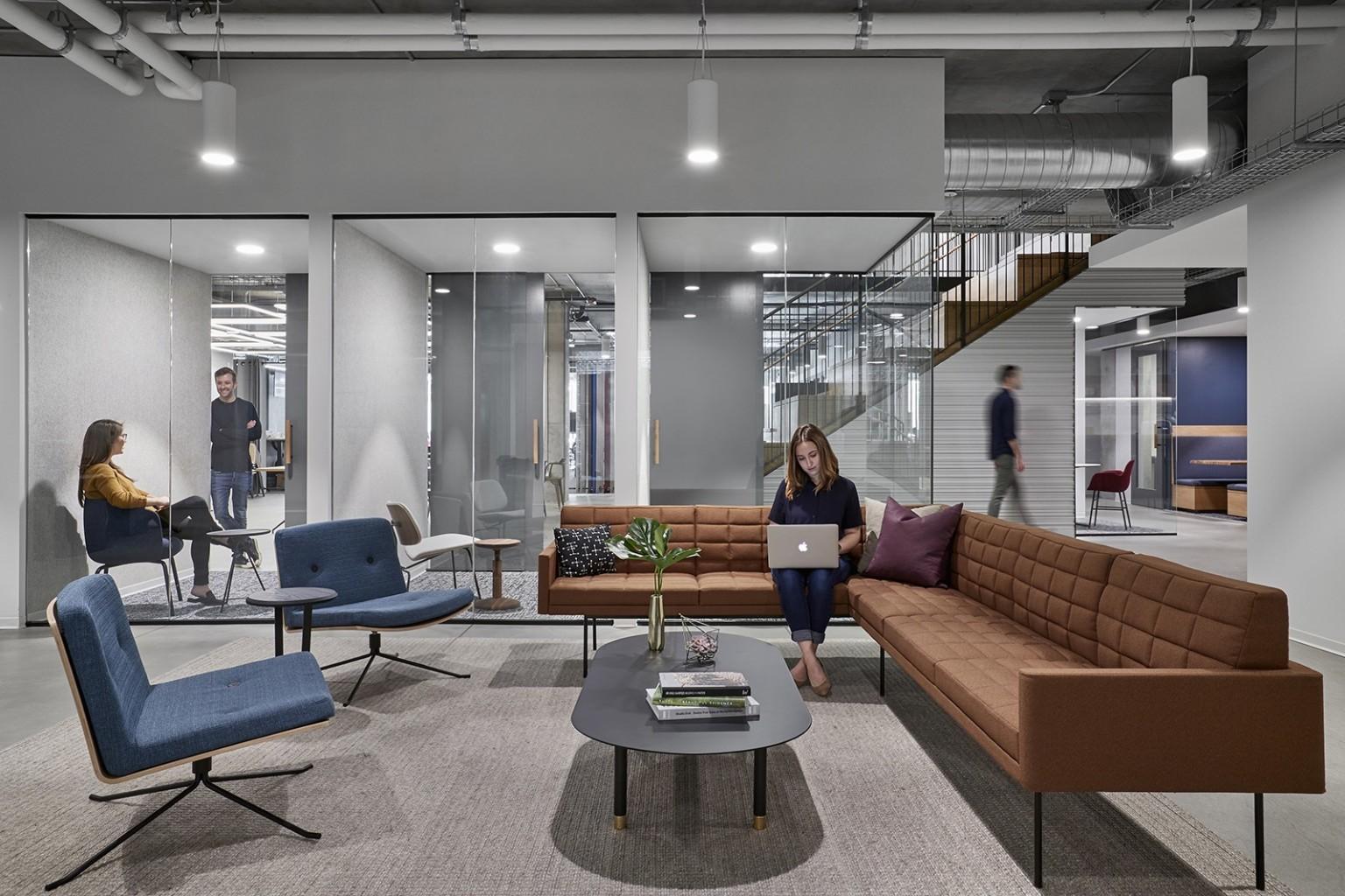 技术公司商业办公空间设计