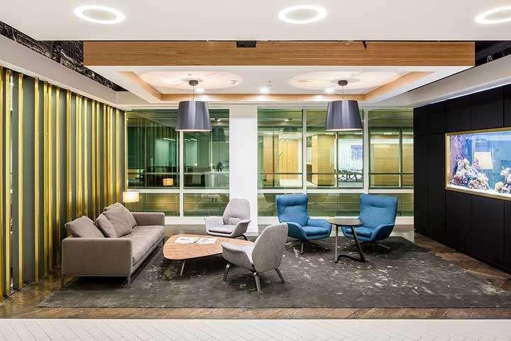 上海古都装修:办公室如何装修体现公司特色