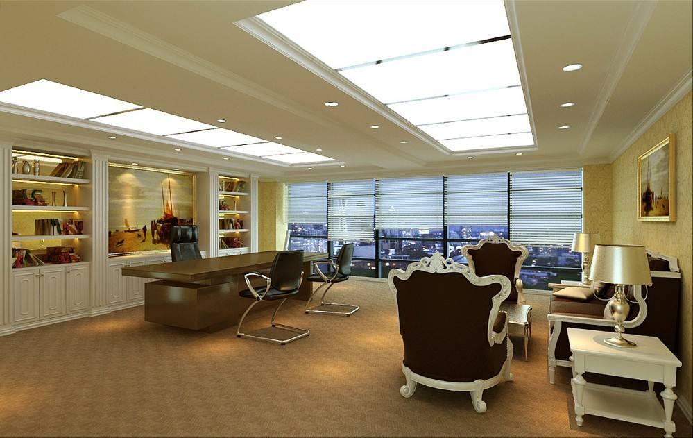 上海现代办公室装修设计的组成