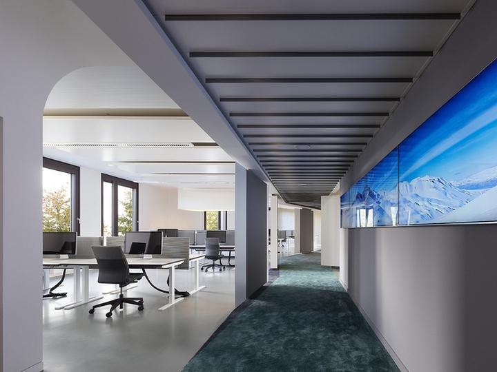 简约型风格办公室设计装修效果