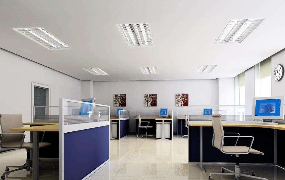 办公楼室内环境设计与灯具选型
