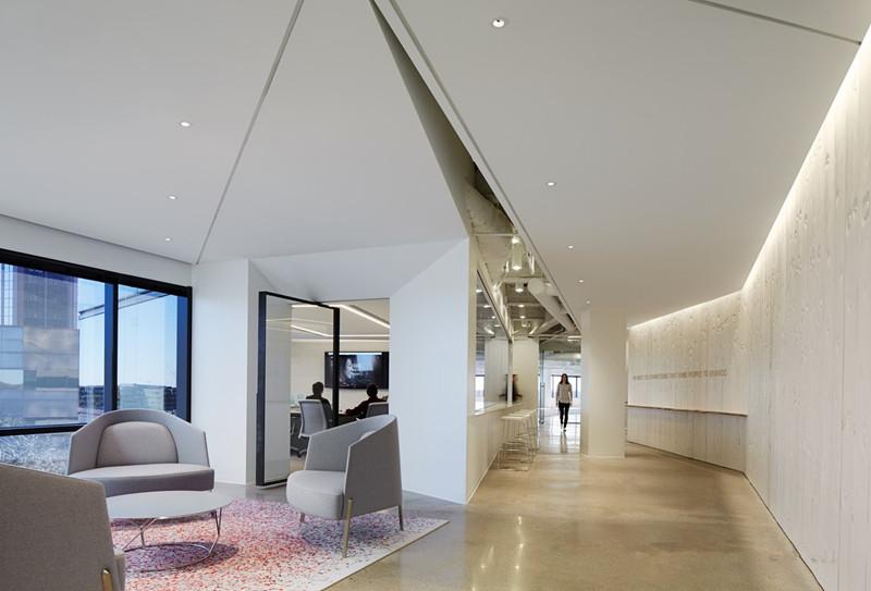 办公楼过道装修设计效果图集