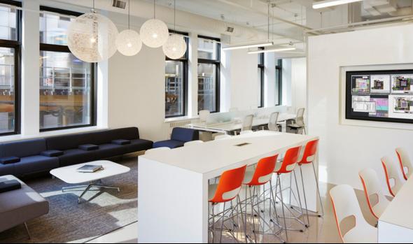 办公室茶水间设计欧洲风格..