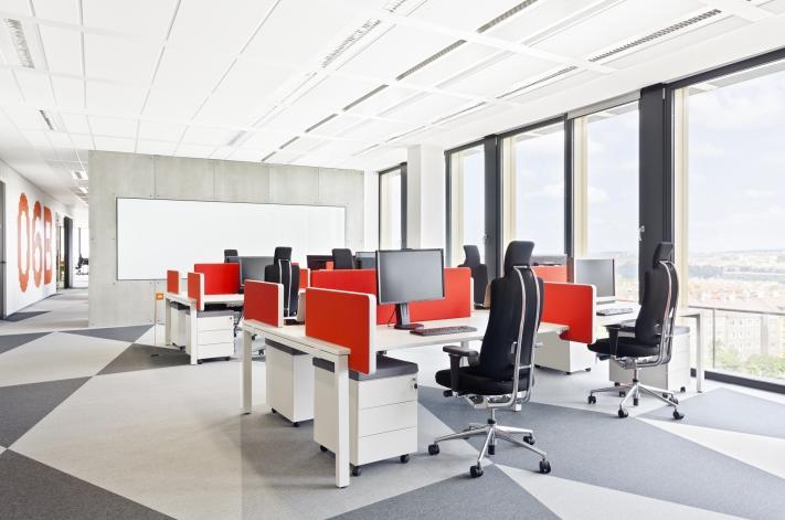 闵行软件公司办公室装修设计