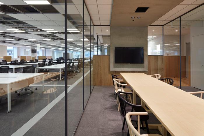 静安区国际贸易公司办公室装修设计