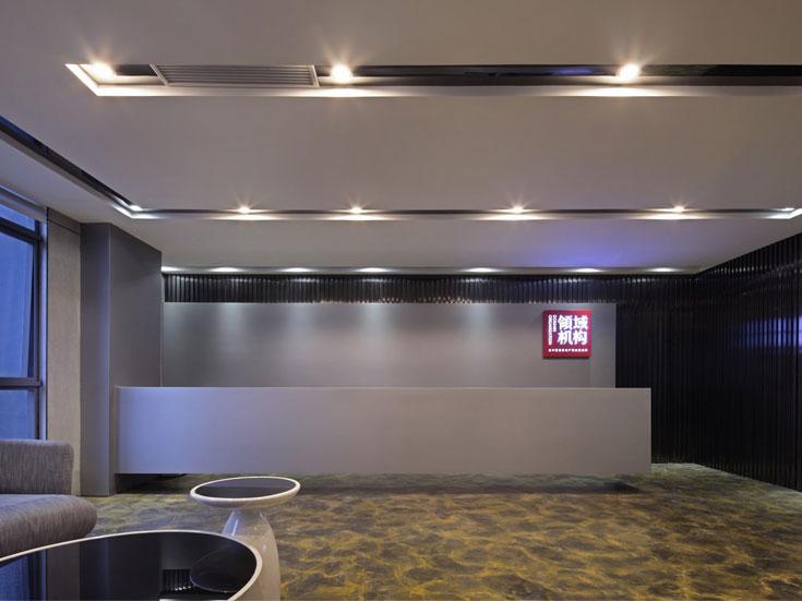 闵行领域企业办公室装修设计方案