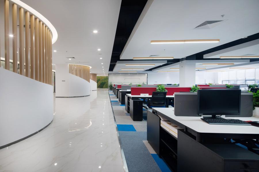 虹口装修网络科技公司办公室设计方案