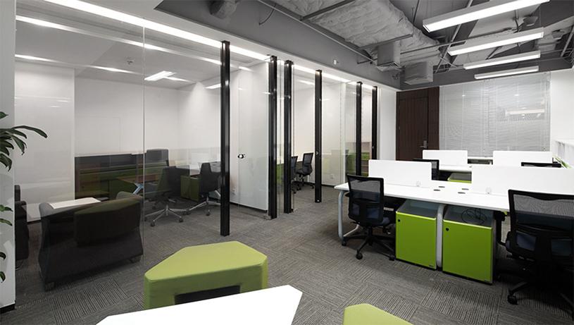 静安区兴业大厦办公室设计方案