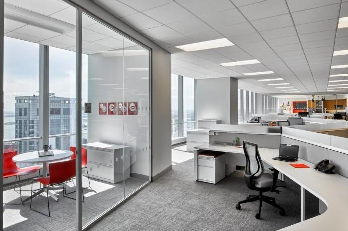 普陀区食品设计公司个性办公室装修设计