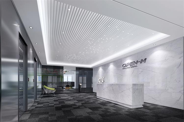 浦东办公室装修设计案例之科技公司