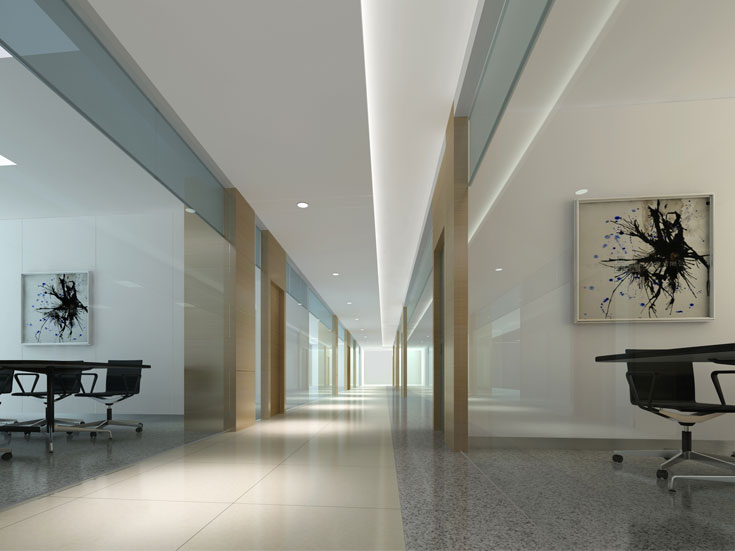 上海杨浦科技公司办公大楼设计