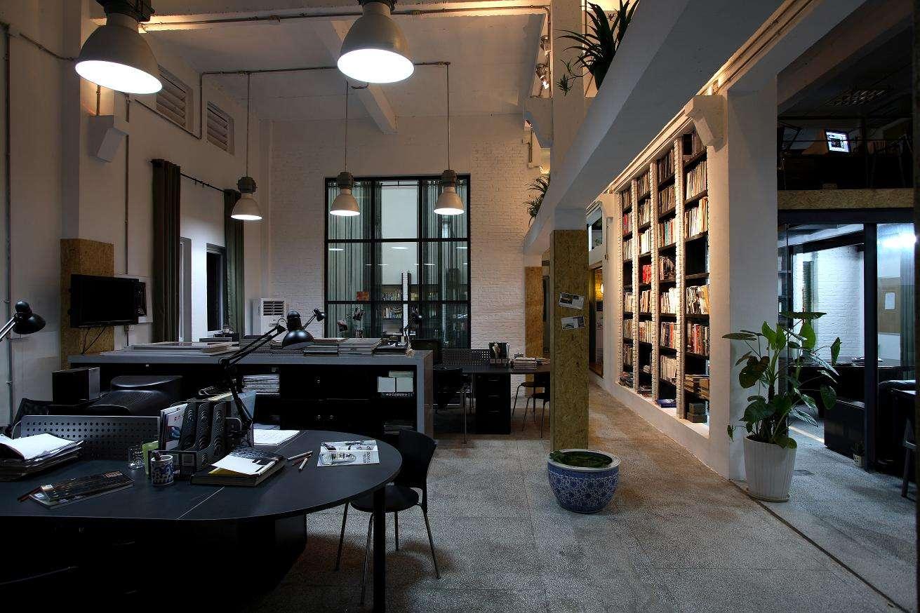 杨浦办公室装修设计的空间特性