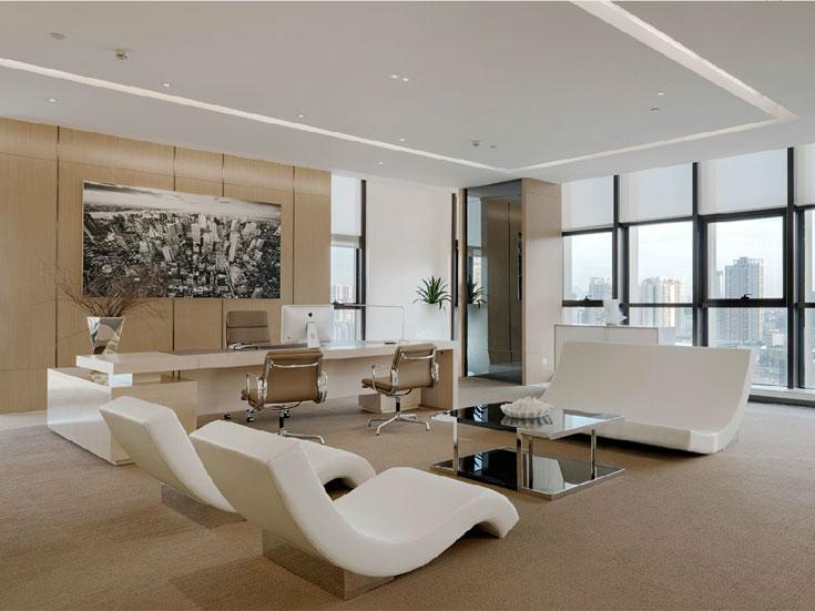 杨浦办公室装修设计工业风格