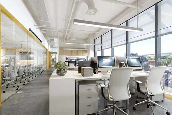 1000平米办公室装修设计费用大概多少钱