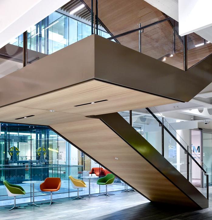 办公楼大厅楼梯设计方案