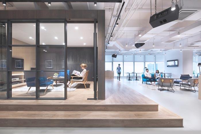 音乐传媒公司-上海办公室设计案例