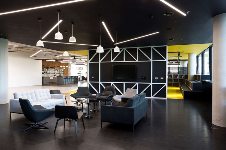小公司开放式洽谈室设计-上海办公室装修公司