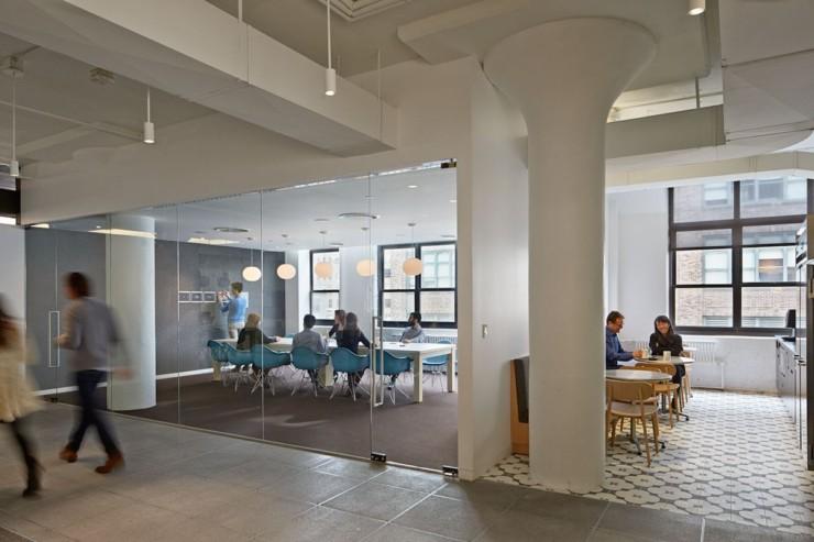 宝山3000平米办公室装修创意设计效果