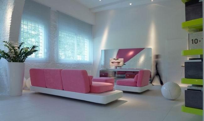 上海办公室装修公司休息区设计
