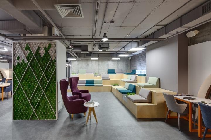 普陀创意工业风格办公室设计