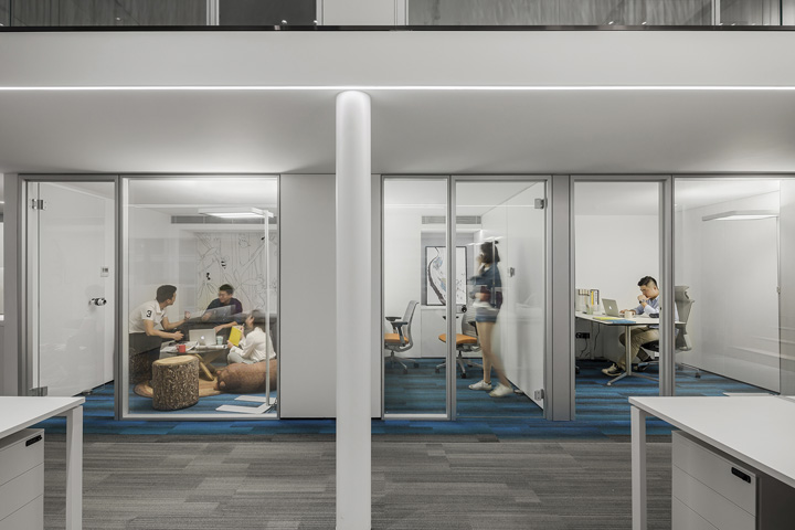 静安区2600平米创意办公设计欣赏..
